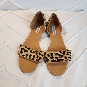 Steve Madden Leopard Sandals Size 10